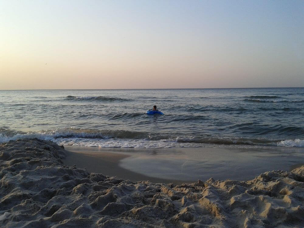 Tylko Syn w tej wodzie siedział...