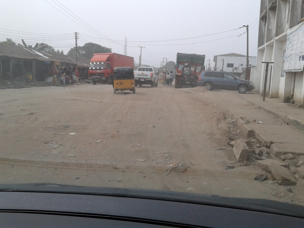 To jest ulica w centrum miasta.